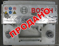 Аккумулятор б/у Bosch S5 52 Ah