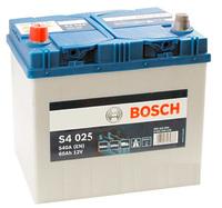 60Ач Bosch S4 025 (L+)