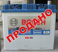 Аккумулятор б/у Bosch S4 024 60 Ah