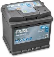 Exide Premium 47 (R+)
