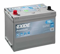 Exide Premium 75 (L+)