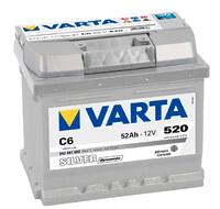 Varta Silver Dynamic 52Ah (C6)