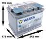 Varta AGM Stop Start D52 60Ah