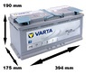 Varta AGM Start Stop H15