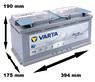 Varta AGM Start Stop H15 105Ah