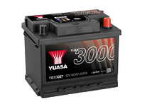 Yuasa YBX3027 60Ah R+