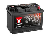 Yuasa YBX3096 75Ah R+
