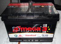A-Mega 3 74Ah R+