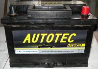 Autotec 77Ah R+