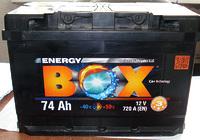 Energy Box 74 Ач б/у