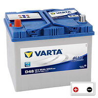 Varta Blue Dynamic  60Ah (D48)