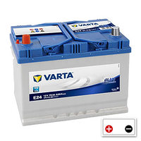 Varta Blue Dynamic  70Ah (E24)