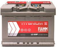 FIAMM Titanium Pro 80Ah R+